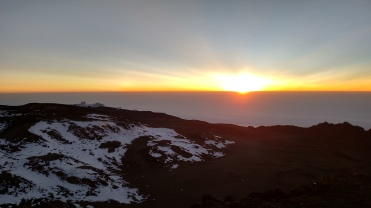 Sunrise at the Peak